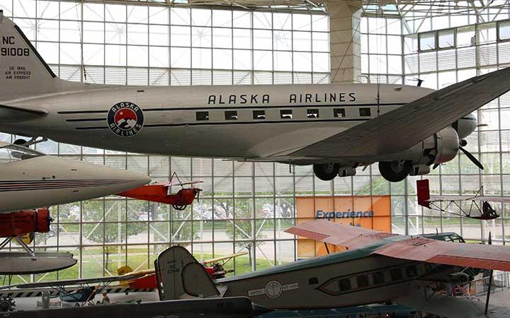 Alaska Airlines DC-3