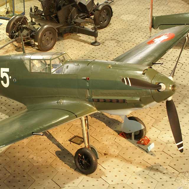 Swiss Messerschmitt Bf 109-E3