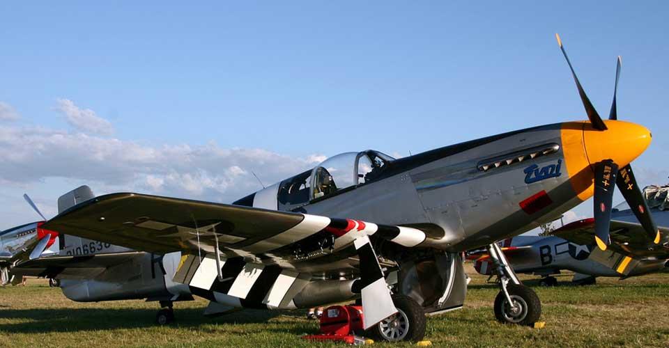 """NAA P-51B Mustang """"Impatient Virgin"""""""