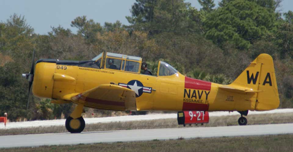 North American SNJ-6 Texan Navy