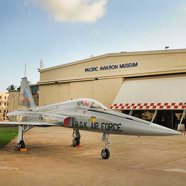 Ex-ROKAF F-5 at the Pacific Aviation Museum