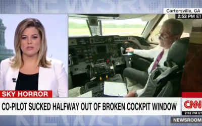Interview on CNN about Airbus A-319 windshield failure