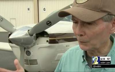 Interview on WSB-TV about mechanic who threatened to sabotage aircraft