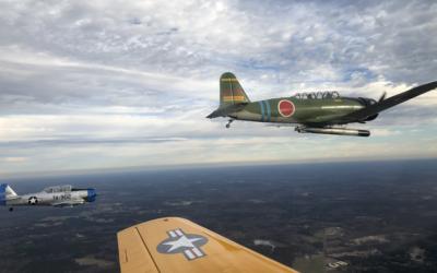 Farewell 2020 Formation Flight