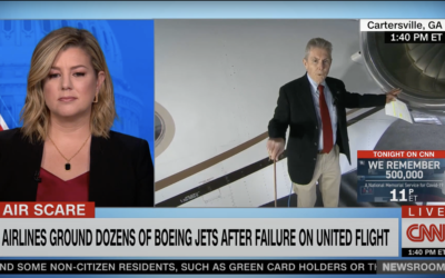 Alan Armstrong on CNN:  United Flight 328 catastrophic engine failure